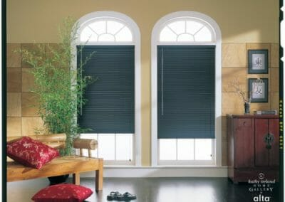 1 inch aluminum window blinds