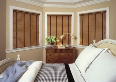 best custom wood faux blinds