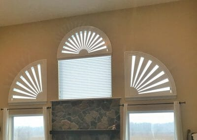 blackfaux wood blinds