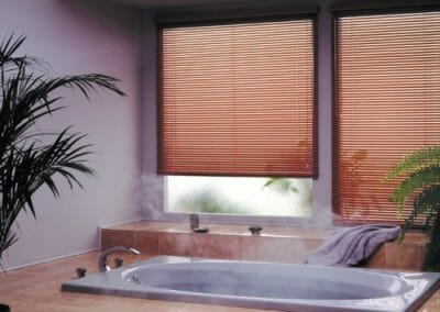 custom aluminum window blinds