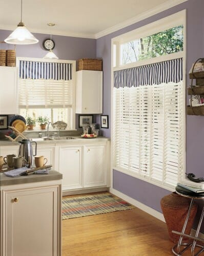 custom faux wood blinds
