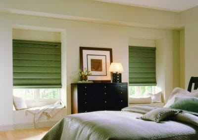custom roman window shades