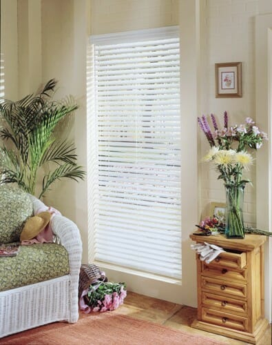 custom wood faux blinds