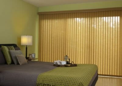 custom wood vertical window blinds