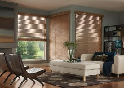 custom wood window blinds