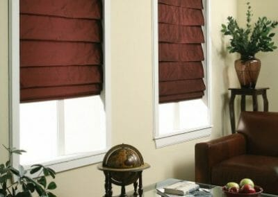 fabric roman window shades