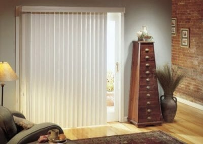 faux wood vertical window blinds