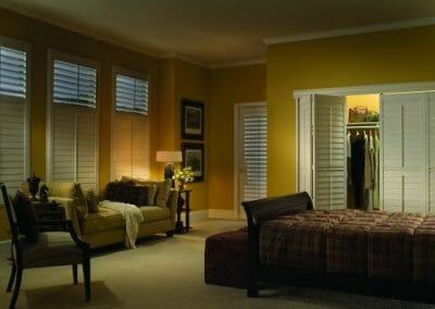 interior vinyl shutters