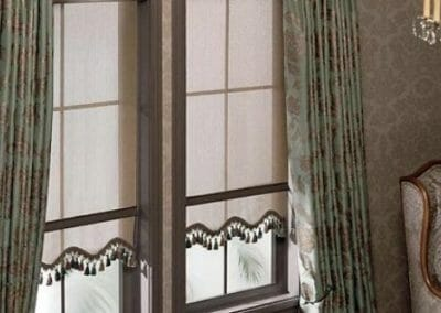 roller window shade treatments