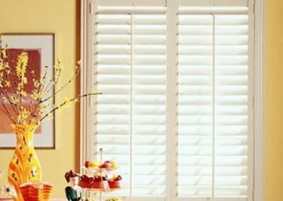 window shutters and blinds