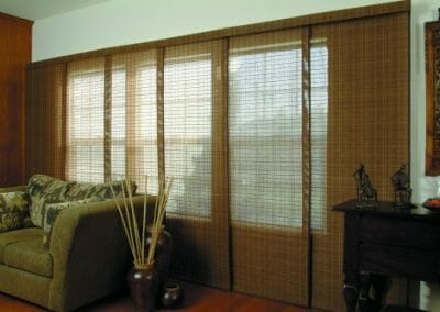 woven roller shades