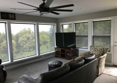 Roller Shades for Living Rooms